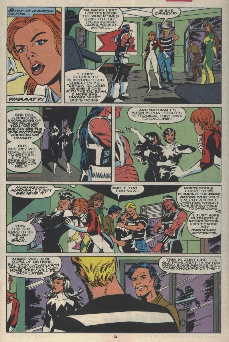 Read online Alpha Flight (1983) comic -  Issue #84 - 11