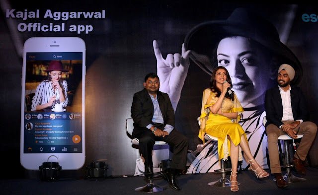 Kajal Aggarwal Official Mobile App