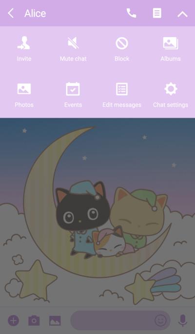 Miinyan of the kitten -Moon Night-