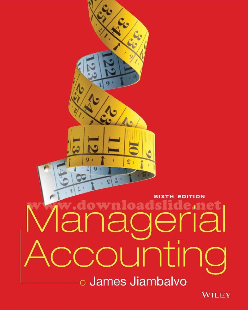... Array - ebook managerial accounting 6th edition by jiambalvo  downloadslide net rh downloadslide net ebook solution manual ...