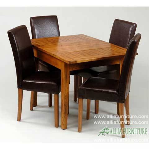 kursi meja makan minimalis model hugo
