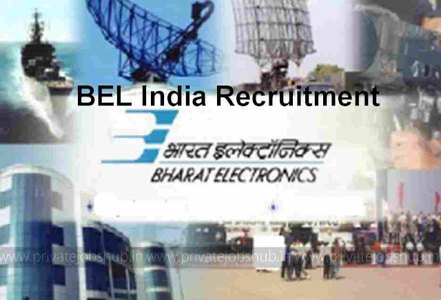 BEL India Recruitment 2017–2018 @bel-india.com 192 Sub-Engineer Vacancy