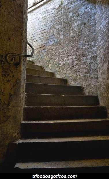 escada de pedra antiga