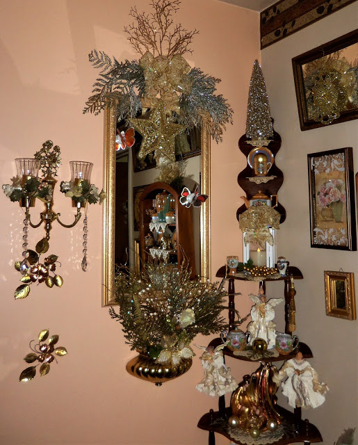 Christmas Home Tour Upstairs Hall, 2019