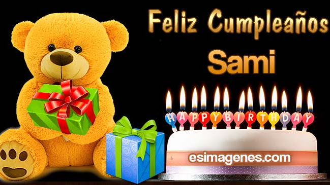 Feliz cumpleaños Sami