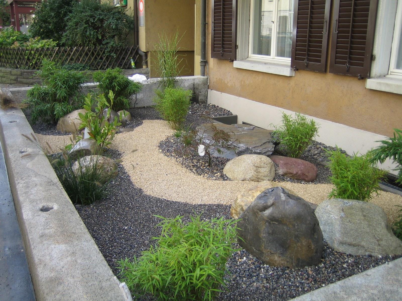 Einzigartig Steingarten Vorgarten Schema