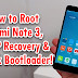 How to Root and Install TWRP on Redmi Note 3 [Unlock Bootloader] !!