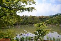 Lago del Kinkakuji en Kyoto