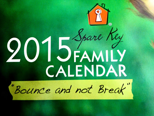 Giving Back | Spare Key | Family Calendar