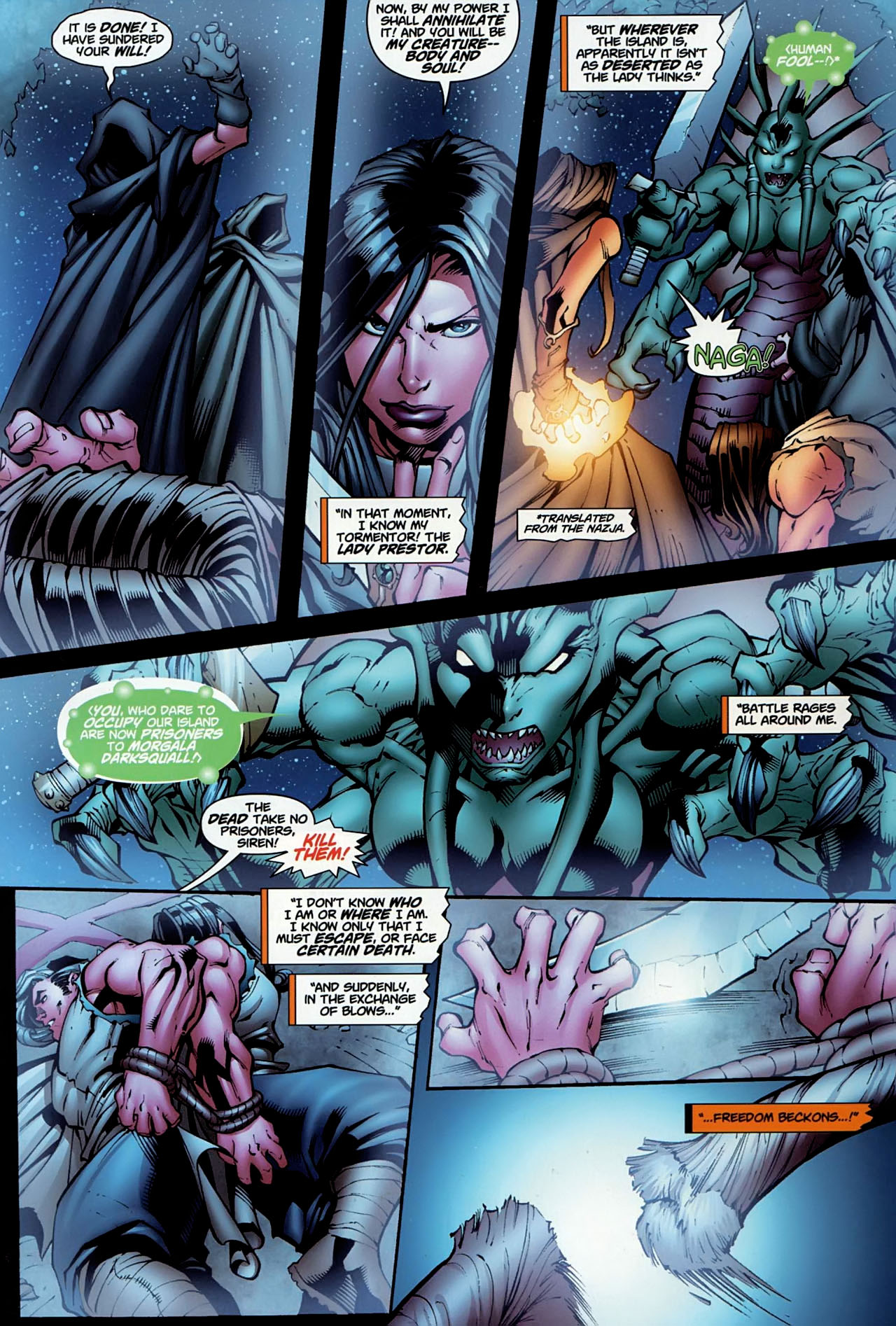 Read online World of Warcraft comic -  Issue #13 - 17
