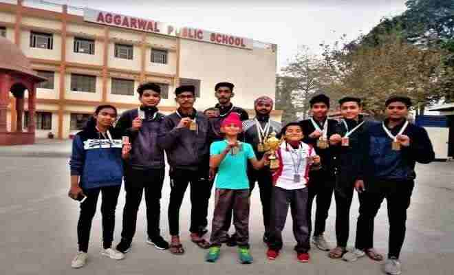 aggrawal-public-school-ballabhgarh-win-14-medal-in-open-archery-news