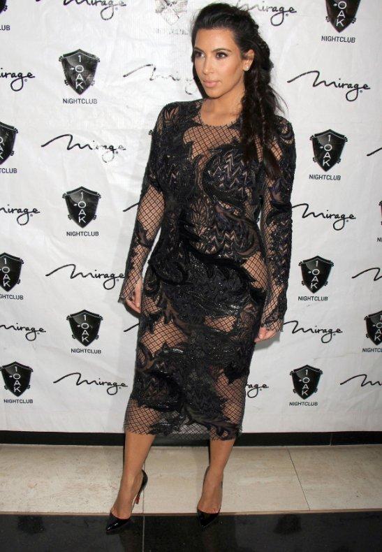 Kim Kardashian Shows Baby Bump Fashion Eye