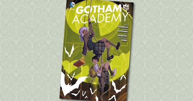 Gotham Academy Panini Cover