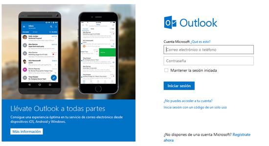 hotmail en español