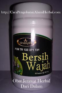Obat kapsul jerawat Bersih Wajah herbal alami yg yang ampuhan