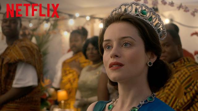 The Crown temporadas  1 y 2 Netflix