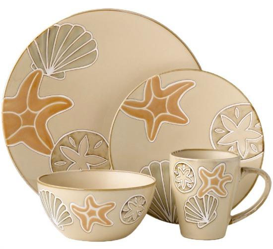 Sandy Shore Dinnerware Set from Pfaltzgraff
