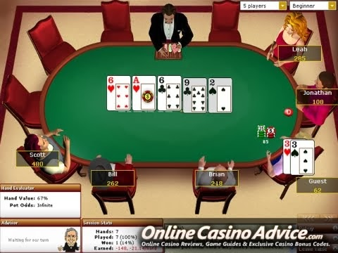 No limit hold'em online