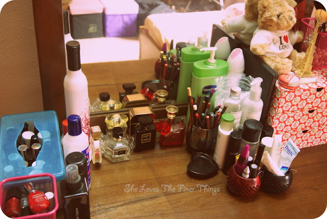 My Dressing Table She Loves The Finer Things