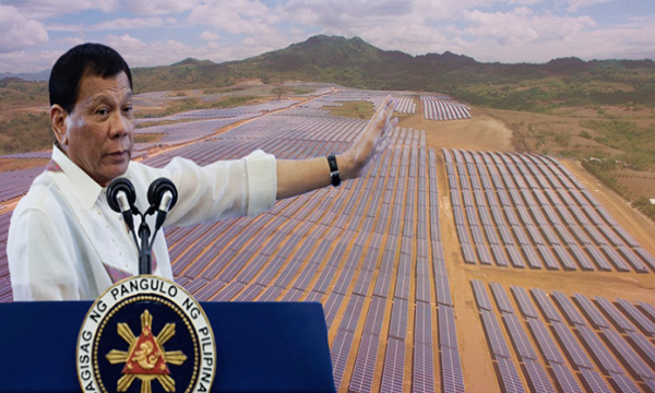 Duterte gov't, inaprubahan ang P86-B solar projects