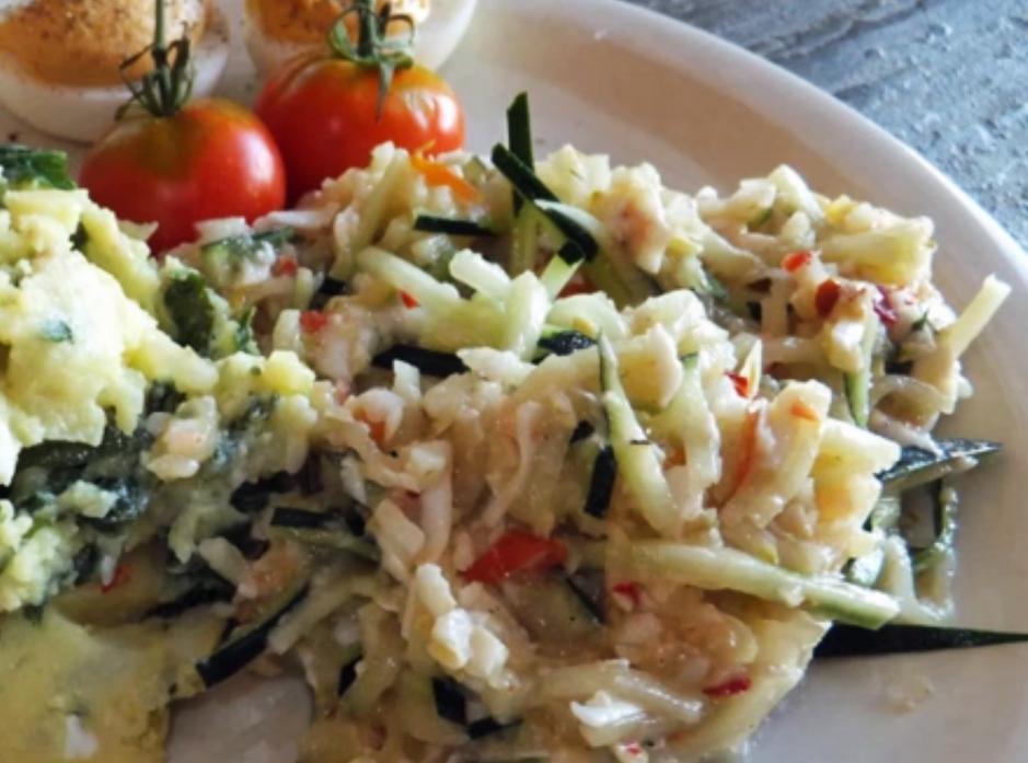 Paleo Colorful Pasta Salad