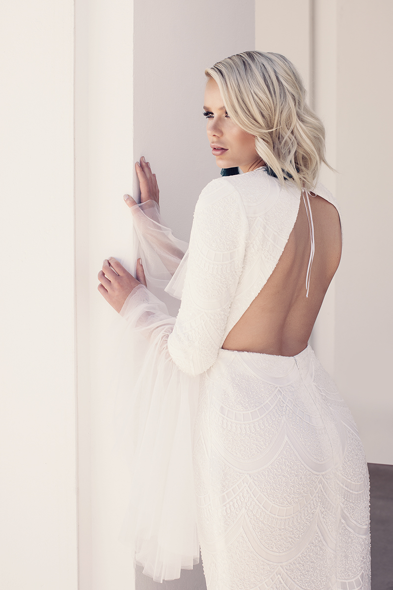 Q+A: COUTURE FOR THE MODERN, SEXY BRIDE   NAOMI PERIS BRIDAL CANBERRA ACT