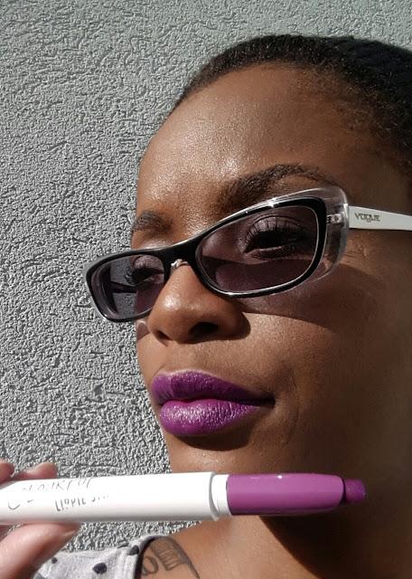 ColourPop Lippie Stix 'Grind' swatch www.modenmakeup.com