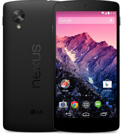 Google Unveils Nexus 5 with Android 4.4 KitKat OS