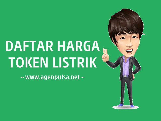Daftar Harga Token Listrik PLN Prabayar Murah AgenPulsa.net