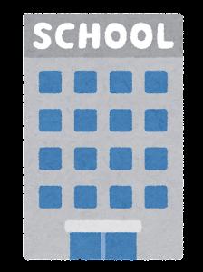 ビルキャンパスのイラスト(School)