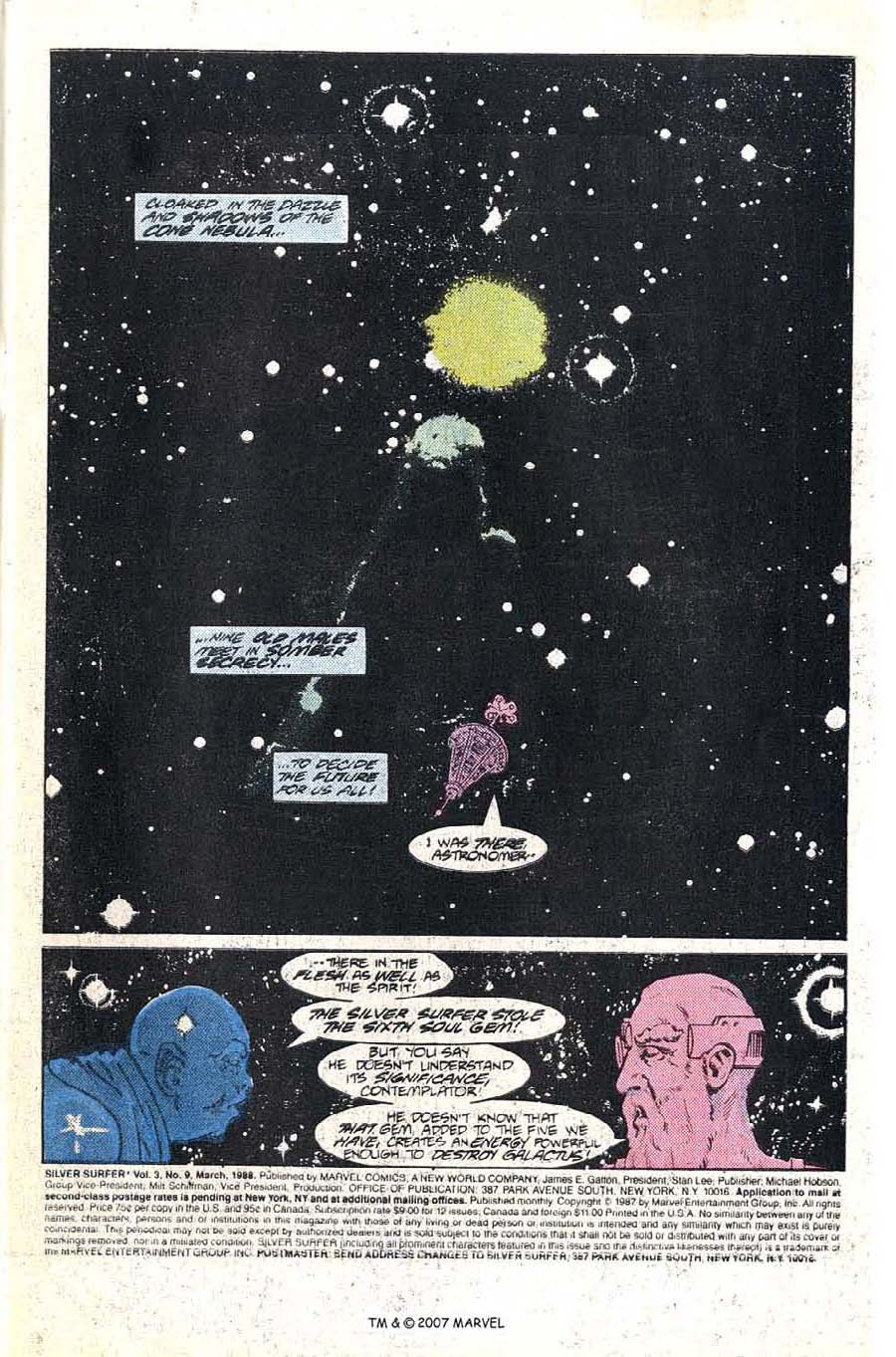 Read online Silver Surfer (1987) comic -  Issue #9 - 3