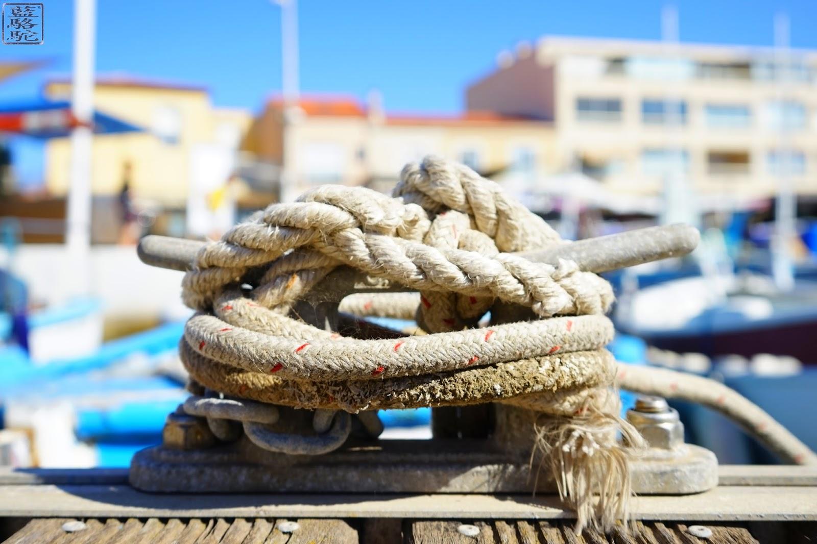 Le Chameau Bleu - Bitte d'amarrage - Port du Brusc