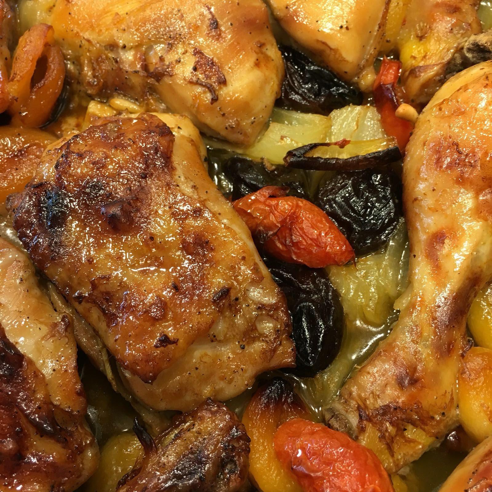 Cocina con rachel pollo rustido al horno - Racholas cocina ...