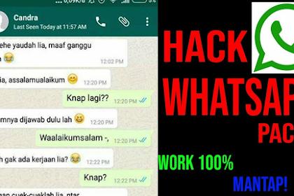Cara Ha*k/Baca Chat WA Pacar atau Temen 2019 - Work 100%