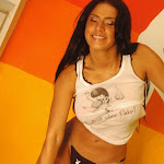 Andrea Rincon – Selena Spice – Sexy Top Blanco y Tanga Negra Foto 114