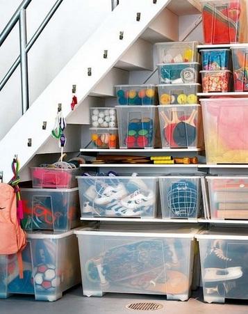 Cajas transparentes de distintos tamaños