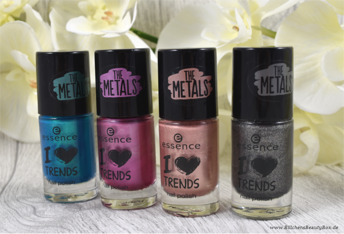 Review - essence - The Metals Nagellack - neue Farben