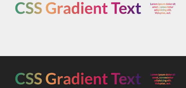 CSS Gradient Text in Firefox