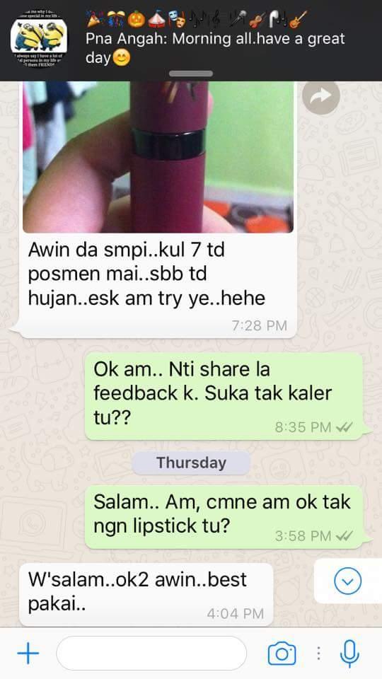 Lipstik Wudhu Friendly, Lipstik Colour Trending, Lipstik Tiada Paraben