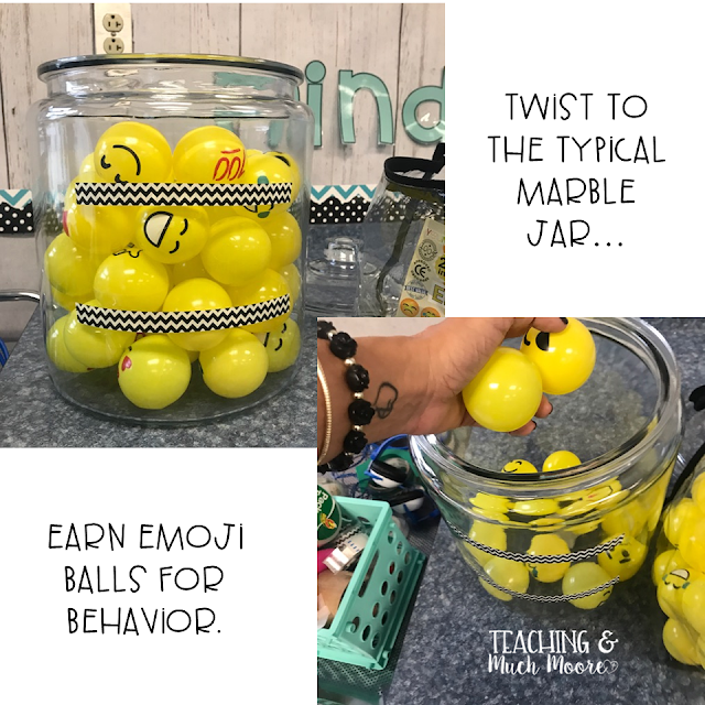 emoji reward jar