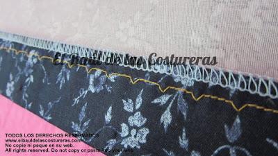 Paso a paso para coser el dobladillo de pantalón con puntada invisible a máquina