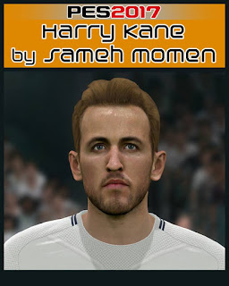 PES 2017 Faces Harry Kane by Sameh Momen