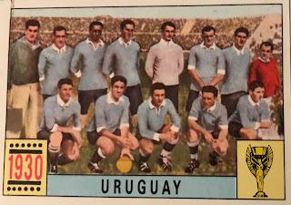 Figurina Uruguay 1930