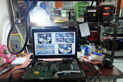 service laptop asus a43s mati total