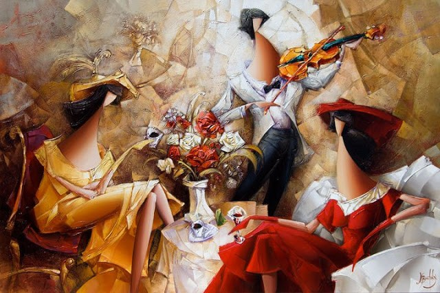 Израильский художник. Nathan Brutsky 25