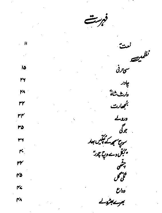 Wasif Ali Wasif Punjabi Poetry