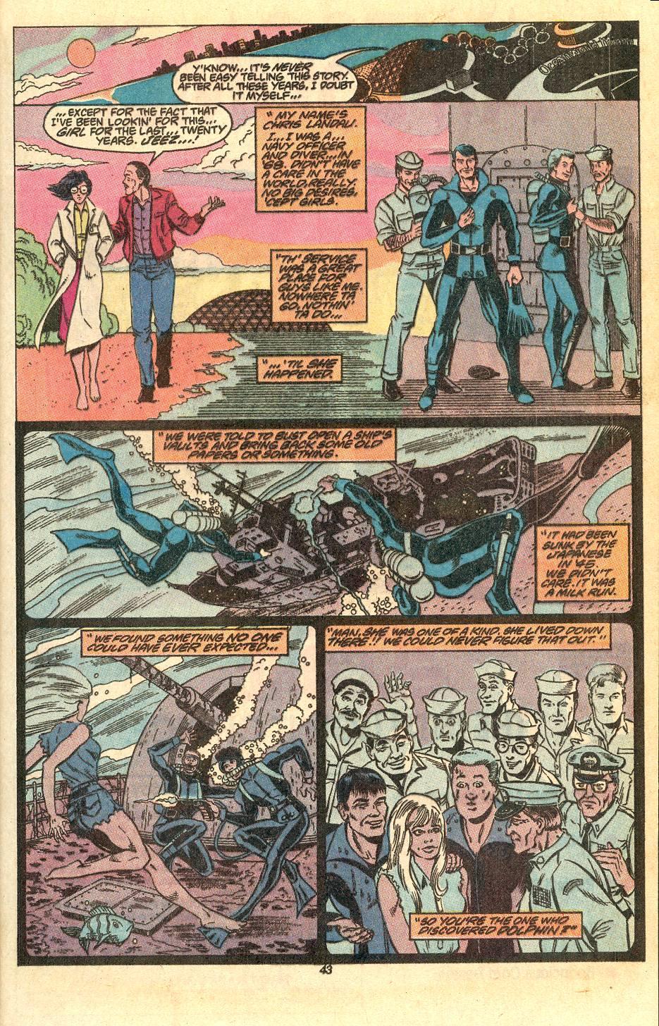 Read online Secret Origins (1986) comic -  Issue #50 - 45