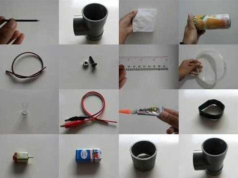 """Cara Membuat """"Generator Van De Graff""""  Sederhana"""