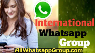 International whatsapp group
