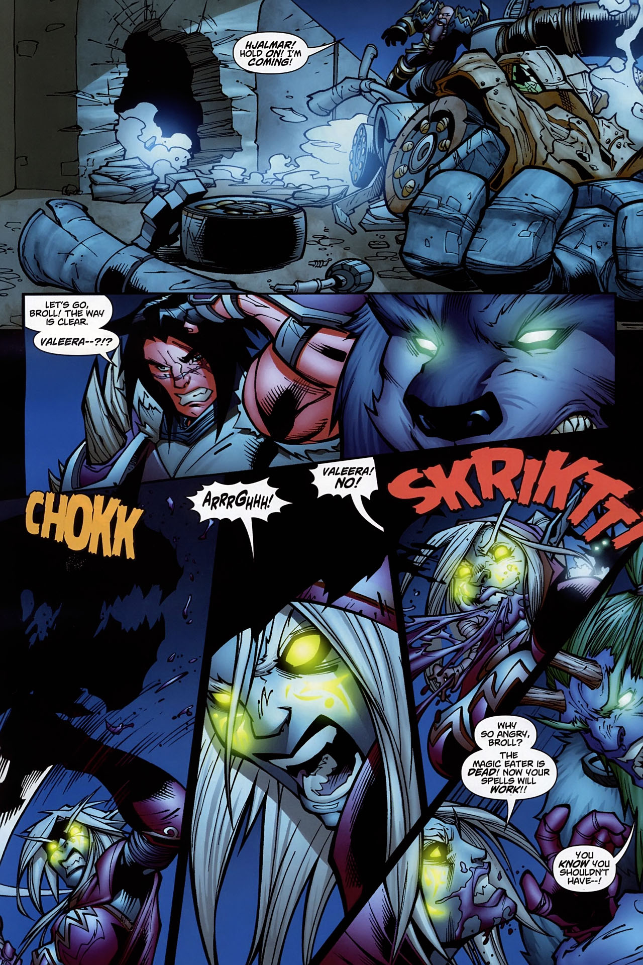 Read online World of Warcraft comic -  Issue #10 - 17